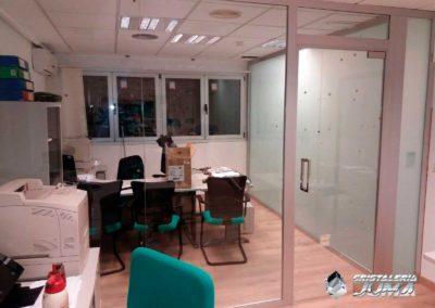 Ampliación y separación oficinas en Lorca