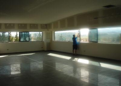 Acristalamiento Acústico panorámico oficinas