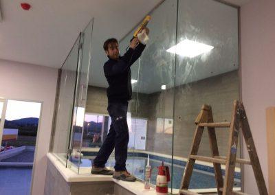 Trabajo Cerramiento piscina en valencia