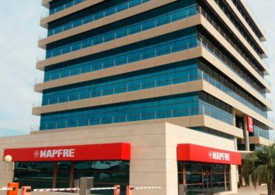 Separación oficinas Mapfre Murcia
