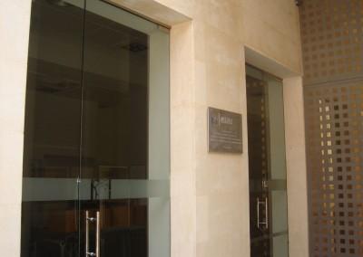 Puerta Cristal