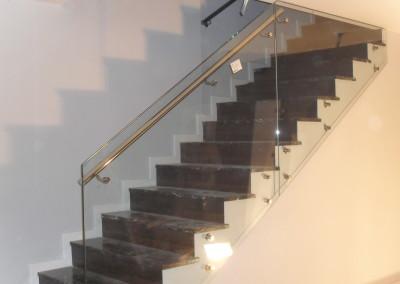 Vidrio de seguridad para escaleras