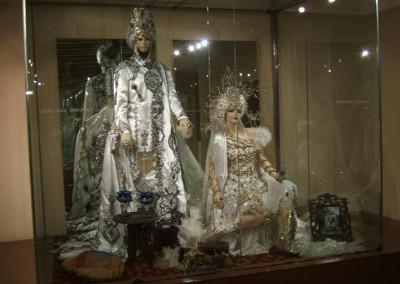 museo de la fiesta vitrina