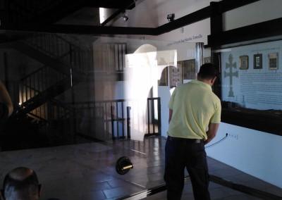 Vitrina castillo - Caravaca de la Cruz