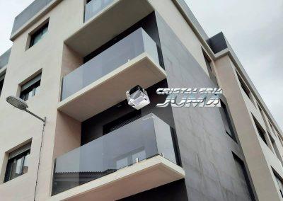 Baranda de seguridad para balcón