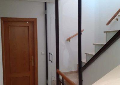 Cerramiento íntegro de escalera