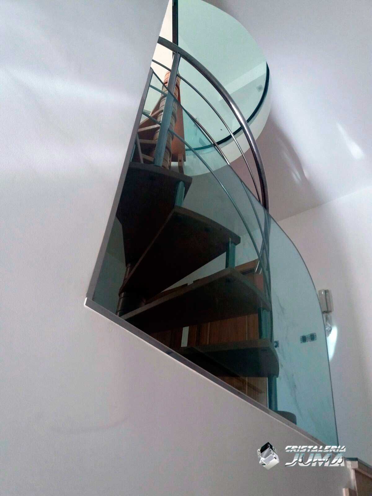 Barandas cristaler a juma - Cerramientos de escaleras ...