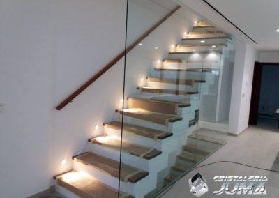 Cerramiento de Escaleras Vivienda en Caravaca
