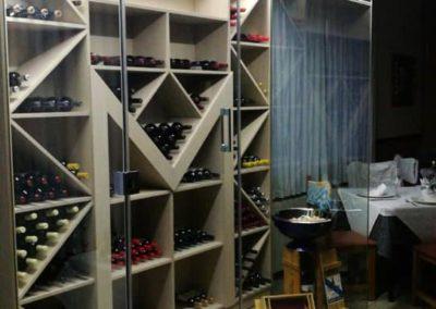Cerramiento para Vinoteca